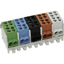 Hauptleitung -Abzweigklemme HLAK 25-1/2 M2 1x grün, Kabelklemme VDE fingersicher