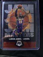 2019-20 Mosaic Jam Masters Lebron James #16 Los Angeles Lakers