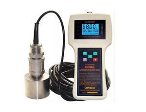 Handheld Ultrasonic Echo Sounder Ultrasonic Water Depth Meter Range 300M