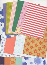 CLEAROUT - 20 X A6 Sheets Vellum Card Paper Glitter Embossed Textured Post