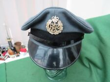 BRITISH ROYAL AIR FORCE CAP WITH CAP BADGE SIZE 55
