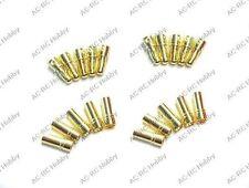 3.5mm Banana Plug  x 10 Pairs Motor Plug Align Trex 450 500 Gold Plate Bullet