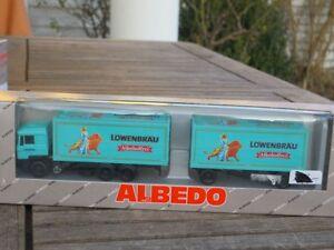 Albedo 200234 Man Löwenbräu-non Alcoholic Munich Roadtrain/Beverage Case Boxed