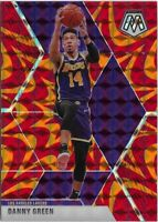 Z) 2019-20 Panini Mosaic Danny Green Reactive Orange Prizm Los Angeles Lakers