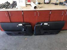 Porsche left - Right Black Door Panels Cayman S Boxster 987 BOSE 06-12