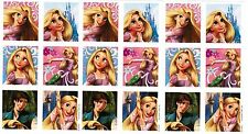 3 Sheets Disney TANGLED Rapunzel Flynn Scrapbook Stickers