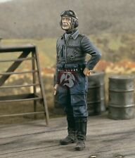 Verlinden 1/24 German Luftwaffe Fighter Pilot WWII [Resin Figure Model kit] 2444