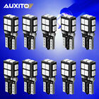 Auxito 10x Blue T10 194 Led Bulbs For Instrument Gauge Cluster Dash Light Bright