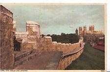Yorkshire Postcard - City Walls and Minster - York     XX732
