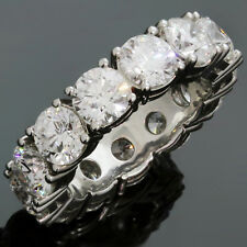 Impressive GRAFF Round Diamond Platinum Wedding Band Ring Size 50 GIA Box