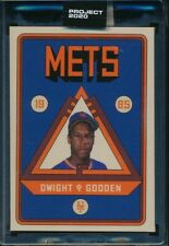 Topps Project 2020 #106 Dwight Gooden 1985 Card by Grotesk with Box SP PR 8854