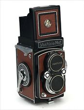Yashica Mat Replacement Cover - Laser Cut Recycled Leather - Vintage