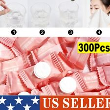 100PCS Compressed Towels Tablet Face Towel Coin Tissue Home Salon Travel Camping