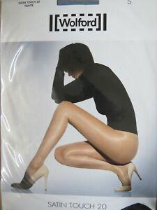 Wolford Satin Touch 20 glossy shiny pantyhose tights hosiery Medium Euro