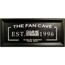 Game of Thrones 13x28 Fan Cave Sign Framed