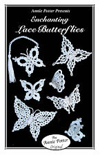 """Crochet bookmark pattern """"Lace Butterfly bookmarks and ornaments"""""""