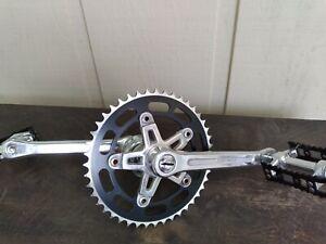1980's Old School BMX Super Maxy Bike Cranks Black MKS Pedals Redline Mongoose
