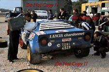 Bernard Darniche Lancia Stratos HF Tour de Corse Rally 1979 Photograph 1