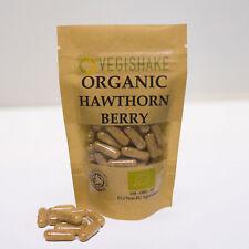 Organic Hawthorn Berry Vegan Pullulan Capsules Powerful Antioxidants Polyphenols