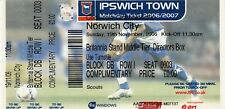 Ticket - Ipswich Town v Norwich City 19.11.06