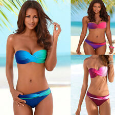 Sexy Costume bagno da donna bikini 2 pezzi per piscina nuoto Monokini mare moda