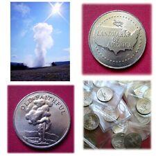 OLD FAITHFUL - Landmarks Of America Coin-Medal