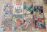 Comic Book lot - Force Works # 9, 10, 11, 14, 16, 18, 21 and 22 - 1996, Marvel