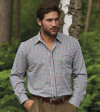 MENS LONG SLEEVE CHAMPION YORK CASUAL FORMAL HUNTING OUTDOOR COTTON HEAVY SHIRT