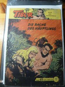 Tibor Held des Dschungels,Gb,Nr.49 Original Lehning
