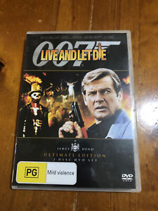 007 - Live And Let Die Dvd. Ultimate Edition