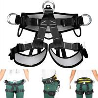 Rock Climbing Fall Protection Gear Safety Harness Sitting Bust Belt Rappel Equip