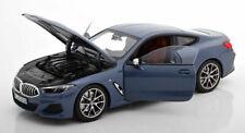 Norev 2019 BMW 850i Serie Coupé Barcelona Blu Metallico Fornitore Edizione 1:18