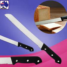 Pizza Bread Sawteeth Knife Cut Cutter Steel Kitchen Blade HKIKN 8668