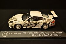 Porsche 911 GT3-RS Presentation 2001 limited in scale 1/43