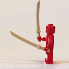 Lego minifigure swords - samurai swords (pair)