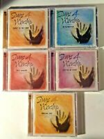 Songs For Worship 5 CD Set New Sealed Packages Time / Life Music Christian Music