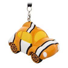 Disney Store Pixar Finding Nemo Racer Race Car Christmas Ornament Figure New