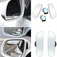 360° Wide Angle Convex Rear Side View Blind Spot 2 pcs Mirror FOR Universal Car
