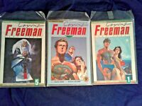 CRYING FREEMAN PART 2 #9, Part 3 #1 &  #5, KAZUO KOIKE STORY - RYOICHI IKEGAMI
