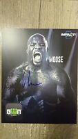 Moose 2017 Signed 8x10 Photo (WWE/IMPACT/NXT)