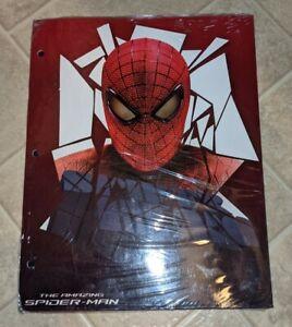 THE AMAZING SPIDER-MAN 2 PACK OF 2-POCKET FOLDERS COMIC BOOK HERO BRAND NEW NIP