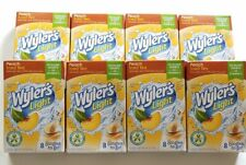 Wylers Light PEACH ICED TEA Singles To Go Sugar Free Drink Mix 64 Packets 11/22