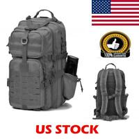 Hiking Camping Bag Army Military Tactical Trekking Rucksack Travel Backpack 25L