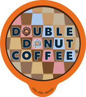 80-ct Double Donut Coffee K-Cups for Keurig 25 Cents A Cup Choose Your Flavor!!!