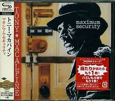 TONY MACALPINE MAXIMUM SECURITY 2016 JAPAN RMST SHM HIGH FIDELITY FORMAT CD