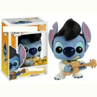 Funko Pop ELVIS STITCH playing guitar 10cm disney collectible figure