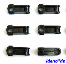 Lego Technology Technic 6 Stück Hinged Connector 32068 8109 black 4114670 NEW