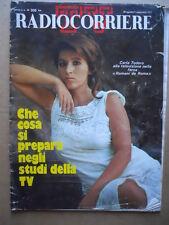 RADIOCORRIERE TV n°35 1973  Carla Todero Massimo Ranieri Beba Loncar [D39]