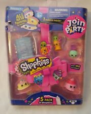 Shopkins Join The Party 5 Pack - Season 7 - NIP - Sealed (Set B)