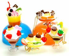 Mochi Squishy Kawaii Cell Phone Charm Pudding Miniature Dollhouse Food Figure